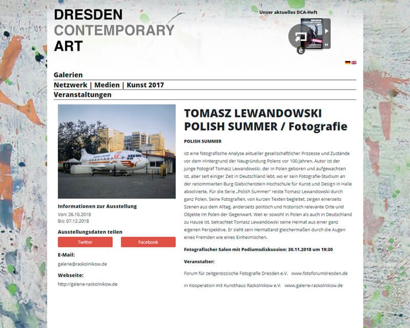 NEWS_POLISHSUMMER_DRESDEN_CONTEMPORARY_ART