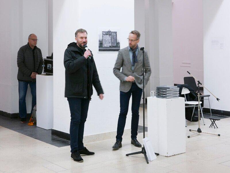 Auschwitz - Typologie eines Vernichtungslagers, Ausstellung Quergalerie, Universitaet der Kuenste Berlin