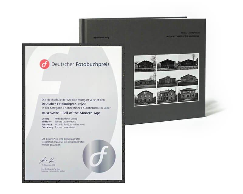 Auschwitz Fall of the Modern Age awarded in Silver from Deutscher Fotobuchpreis